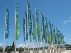 Carlsberg EuroLounge CCB bandeiras
