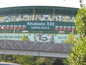 Super Bock Alvalade XXI alcadoexterior